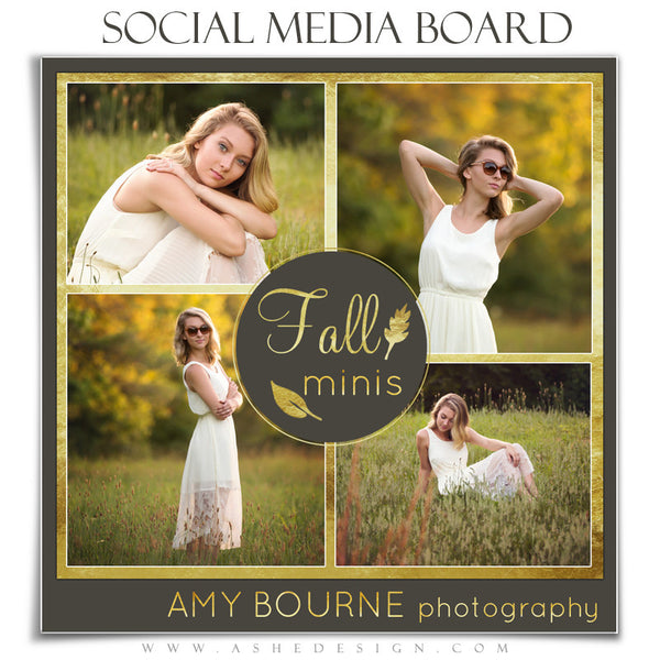 Social Media Boards | Fall Foil 2