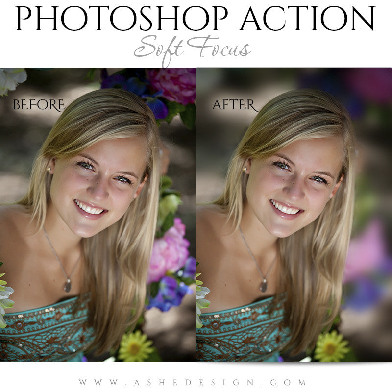 Photoshop Action | Soft Focus1