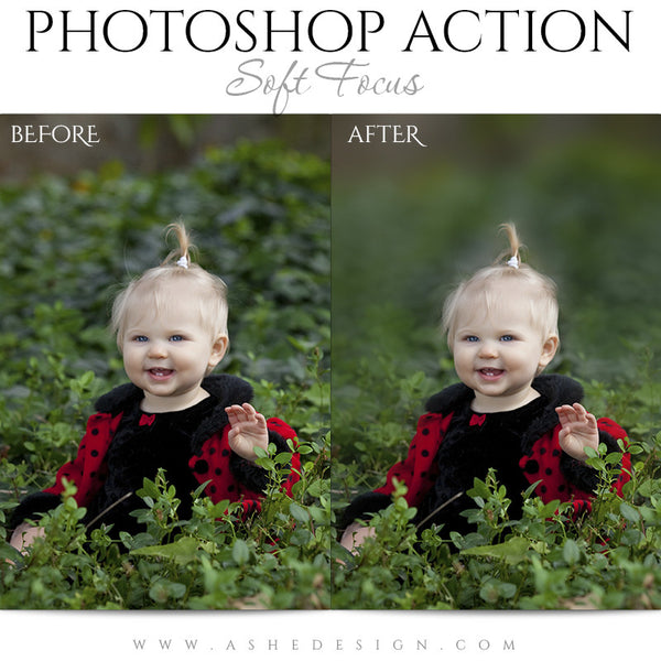 Photoshop Action | Soft Focus3