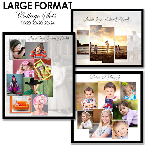 Collage Template Set 3 | Split Panels