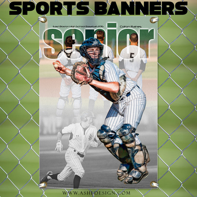 Amped Sports Banner 24x36 | Between The Lines bb