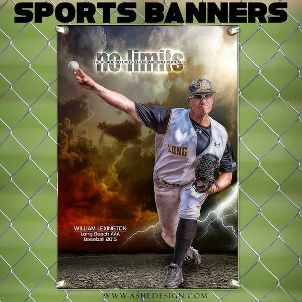 Amped Sports Banner | No Limits bb1
