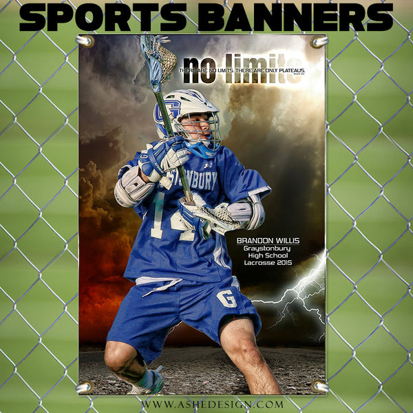 Amped Sports Banner | No Limits lax