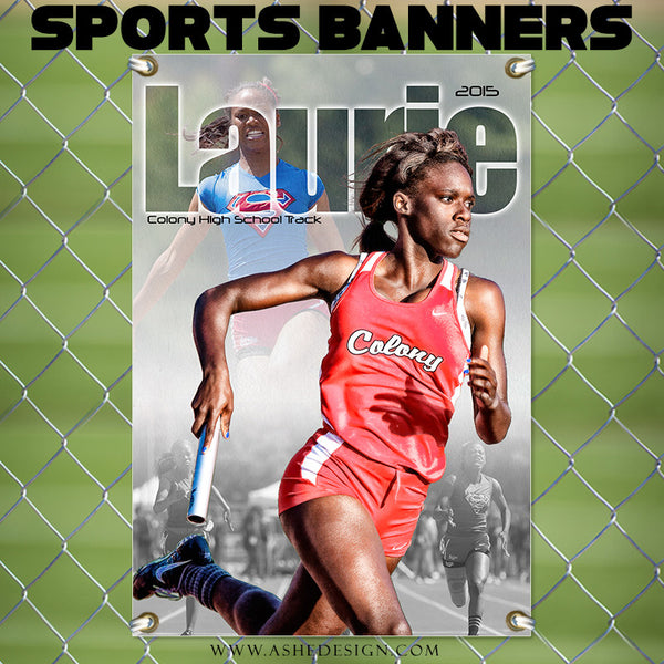 Amped Sports Banner 24x36 | Between The Lines track