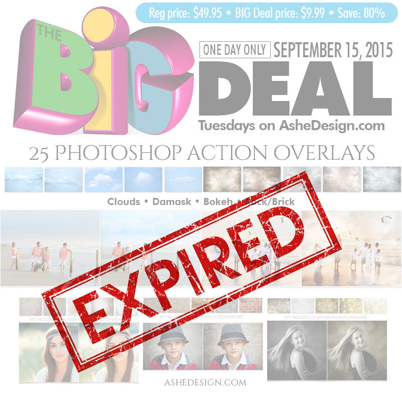BIG DEAL September 25, 2015 exp