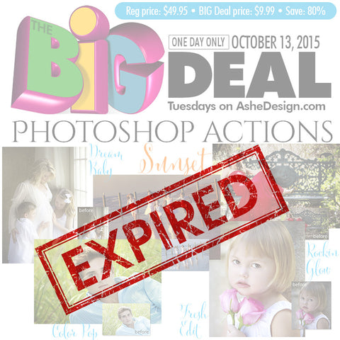 BIG Deal October 13, 2015 exp