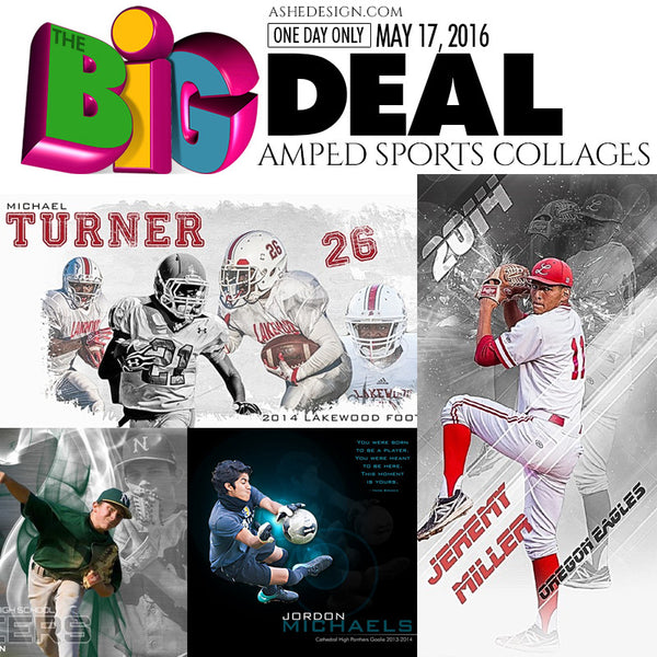 BIG DEAL May 24, 2016 Sports Collage Sets)