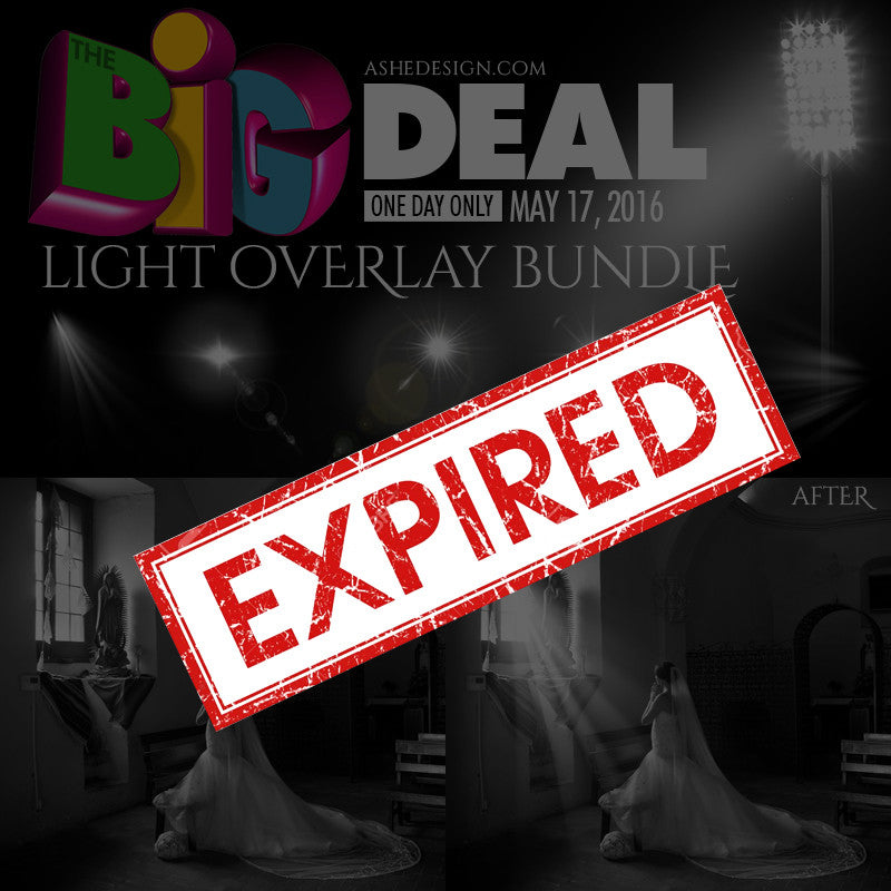 Ashe Design | BIG DEAL May 17, 2016 (Light Overlays) expired
