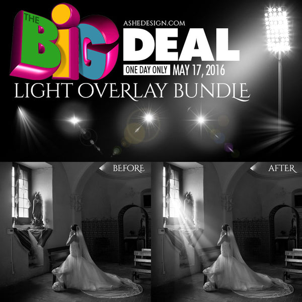 Ashe Design | BIG DEAL May 17, 2016 (Light Overlays)