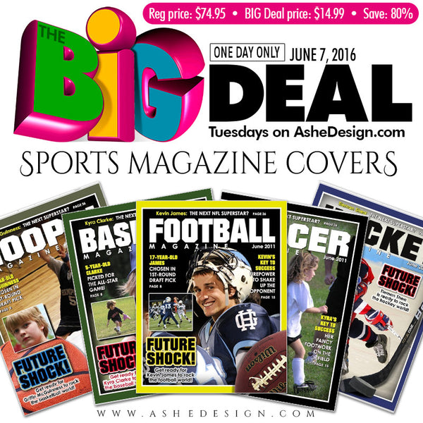 Ashe Design | BIG DEAL June 7, 2016 (Magazine Covers)