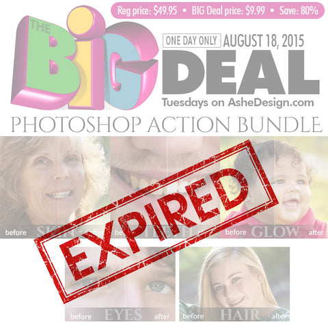 BIG DEAL - August 18.2015 expired
