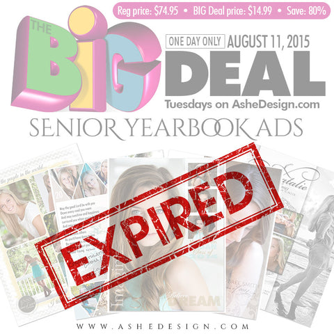 The BIG DEAL - Tuesday August 11, 2015 exp