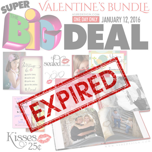 Ashe Design | SUPER BIG DEAL Jan 12, 2016 (Valentine) expired