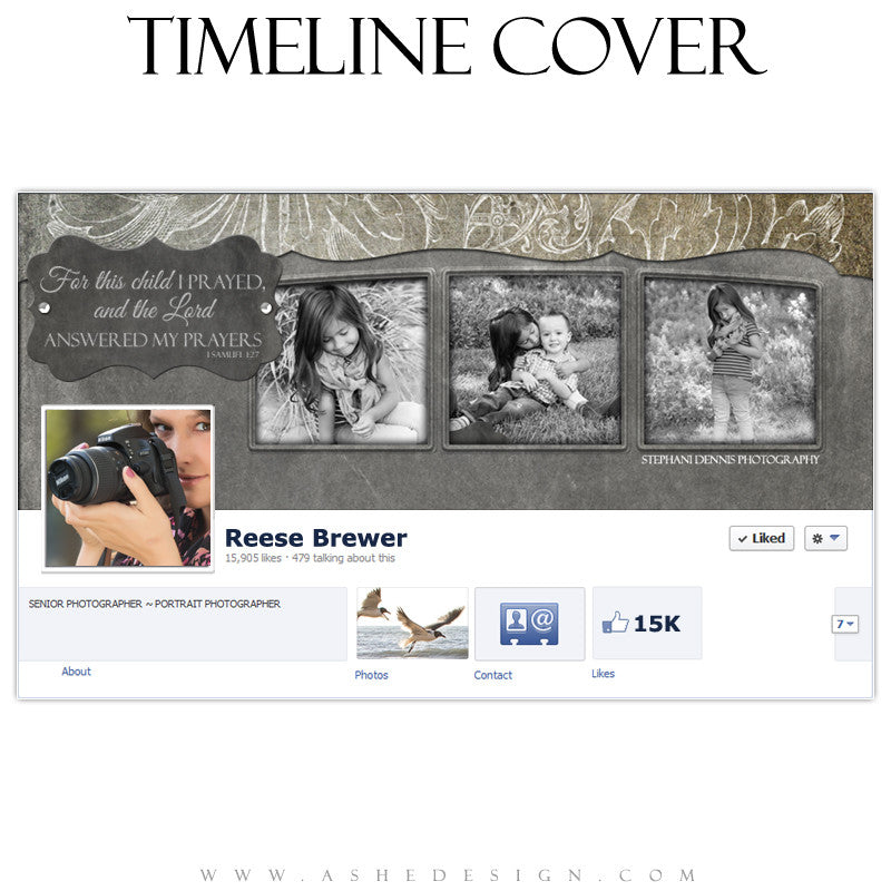 Timeline Cover Design - Slateboard