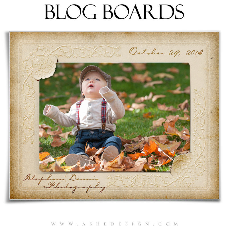 Blog Boards - Victorian Frames example1 web display