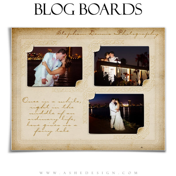 Blog Boards - Victorian Frames example3 web display