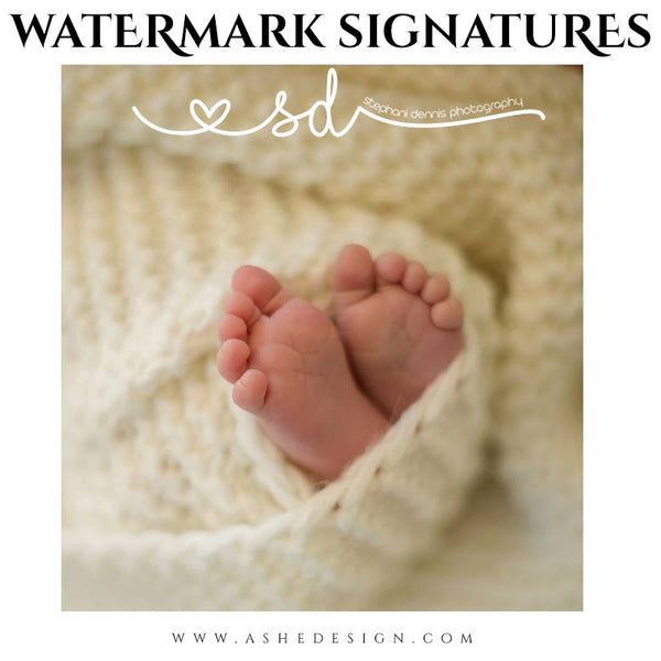 Photoshop Word Art | Watermark Signature Doodles ex sd