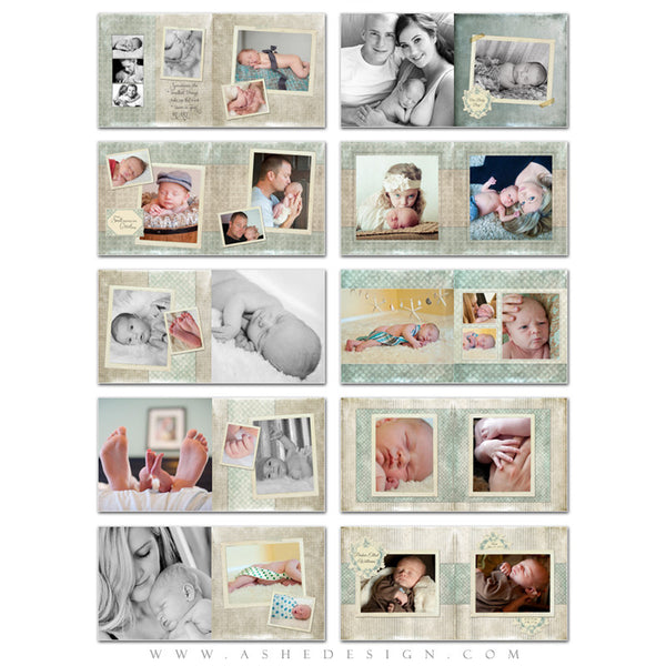 Parker Elliot 10x10 Photo Book pages web display