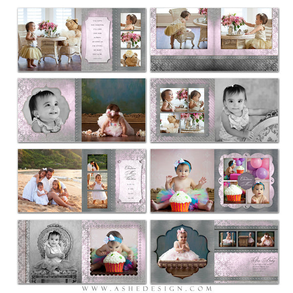 Baby Girl 12x12 Photo Book | Christina pages