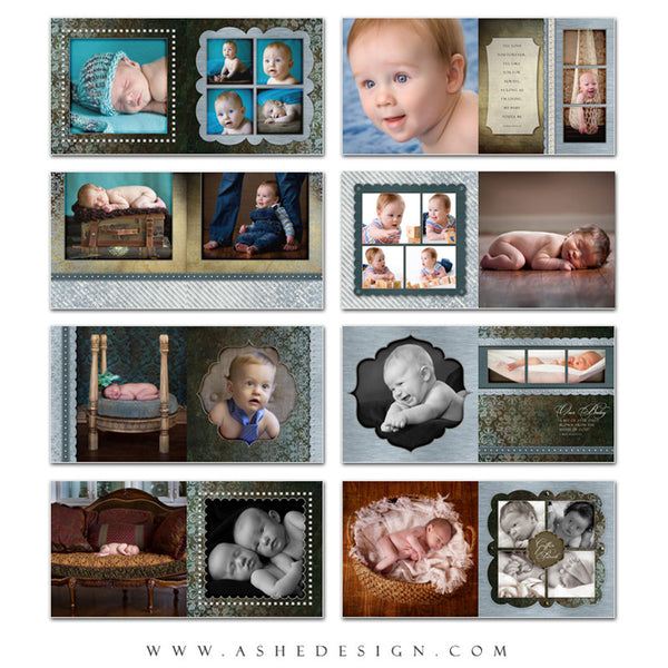 Baby Boy 12x12 Photo Book | Griffin pages