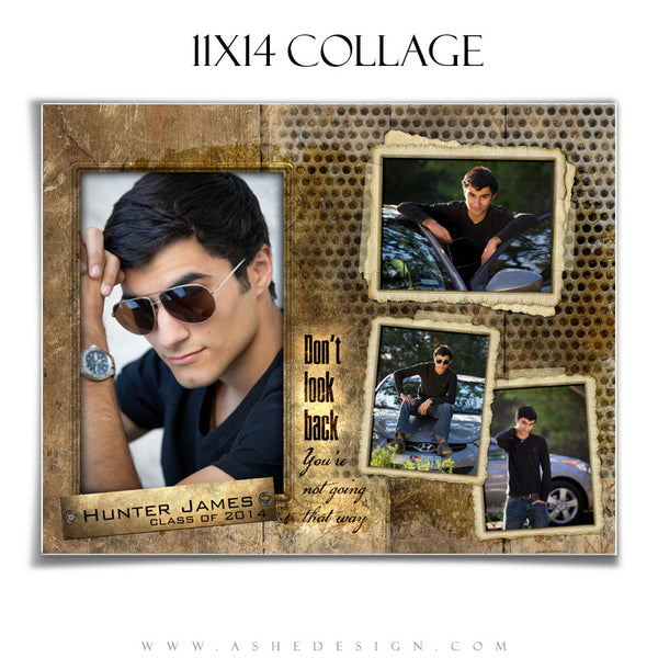 Hunter James 11x14 Collage Template for Photographers