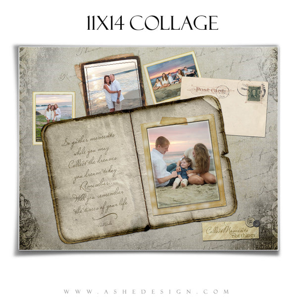 Amped Photoshop Collage Templates for Photographers | Collect Moments 11x14