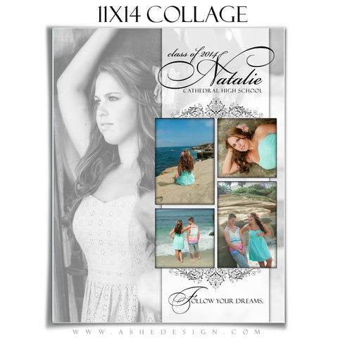 Ashe design | Simply Classic 11x14 Photography Template