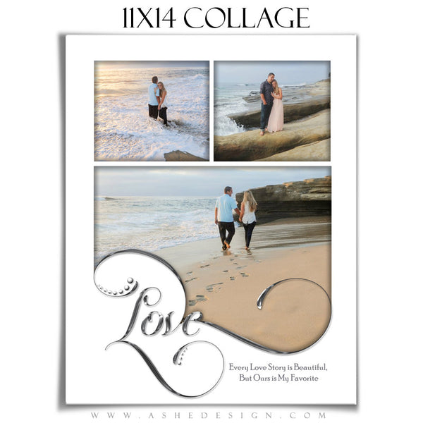 Collage Template | Simply Worded Love 11x14