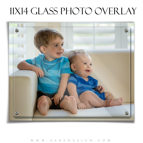 Designer Gems | Glass Photo Overlays 11x14