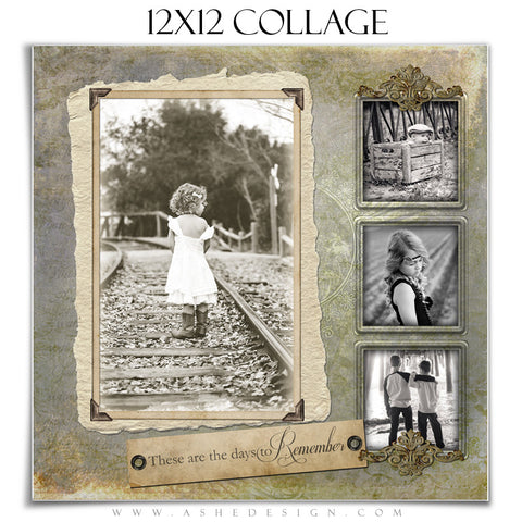 Days To Remember 12x12 Collage web display