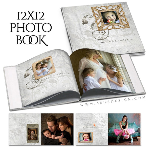 Photo Book 12x12 | Sibtle Focus Moments open book