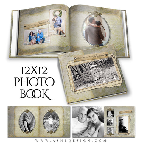Photo Book 12x12 | Days To Remember open book