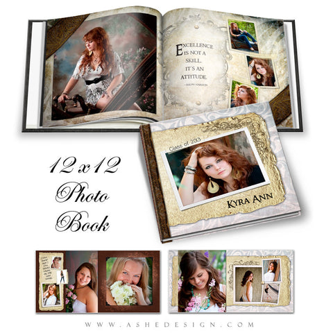 12x12 Photo Book | Kyra Ann cover