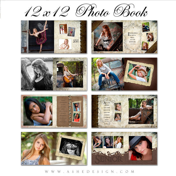 12x12 Photo Book | Kyra Ann pages