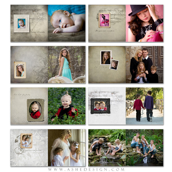 Photo Book 12x12 | Sibtle Focus Moments pages