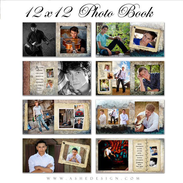 12x12 Photo Book | Tiernan Michael pages