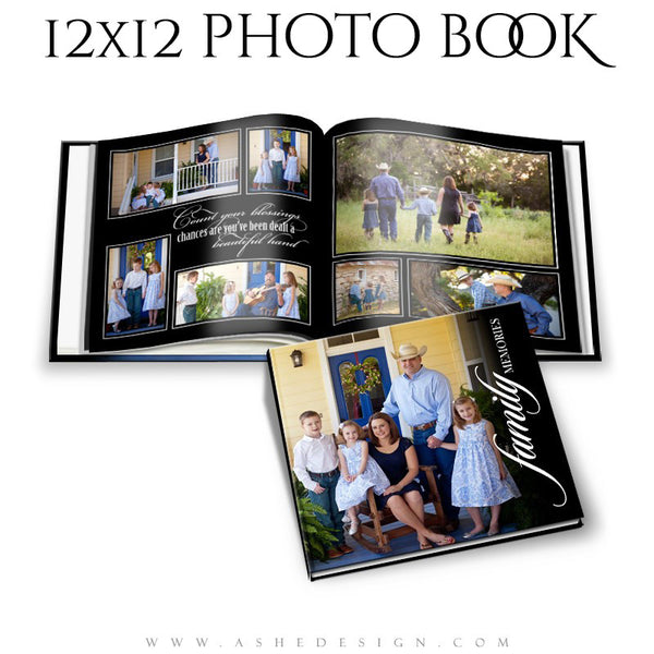 Photo Book 12x12 | Classic Black cover