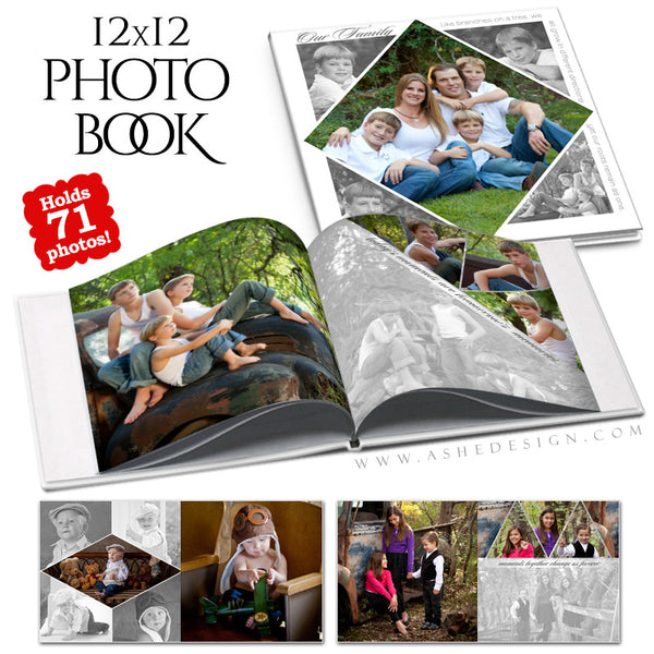 12x12 Photo Book | Pennant cover