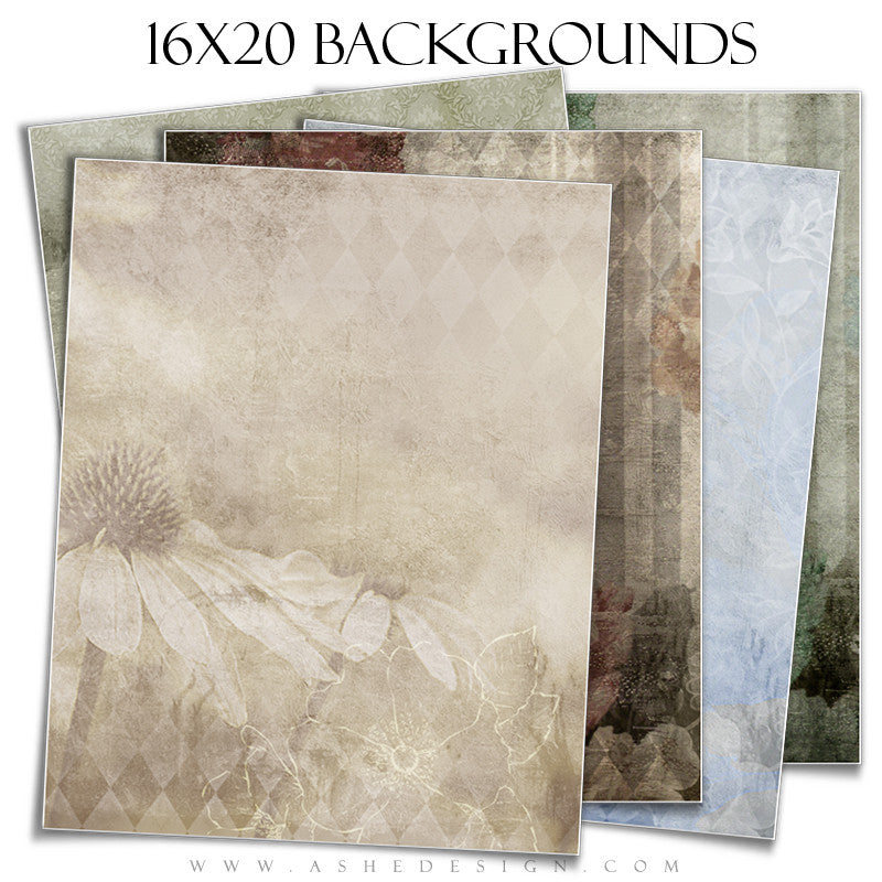 Photography Background Set | Fancy Florals