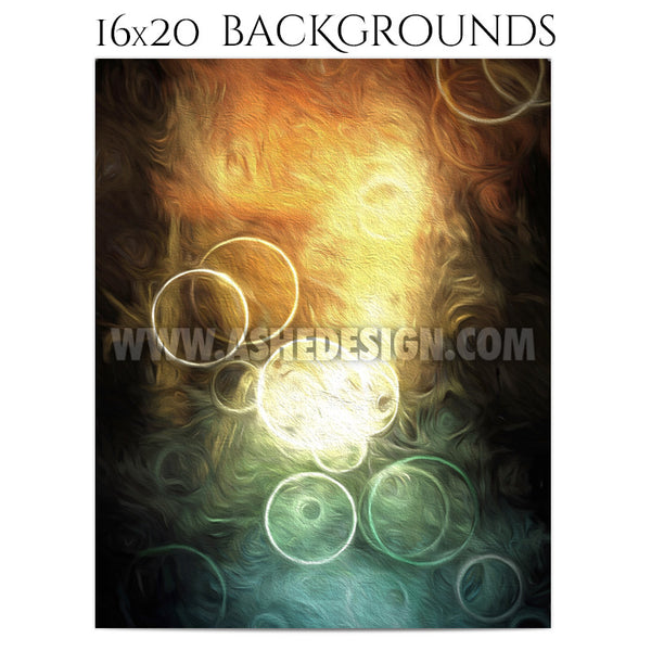 Photography Background Set | Painted Bokeh 1