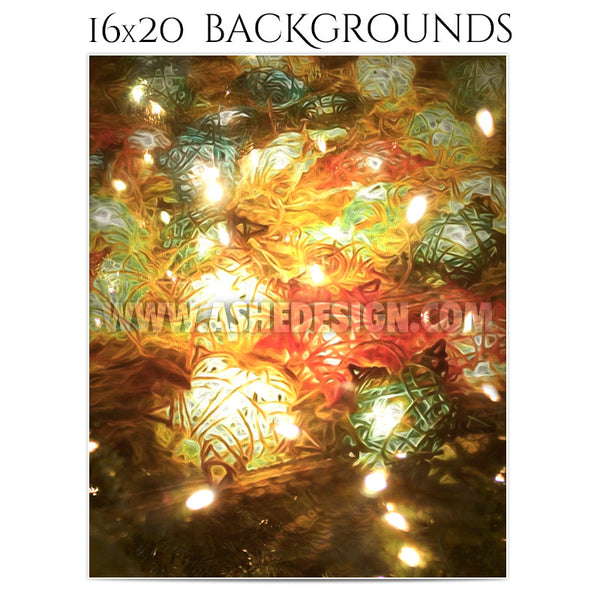Photography Holiday Background Set | Impressionistic Holidays3