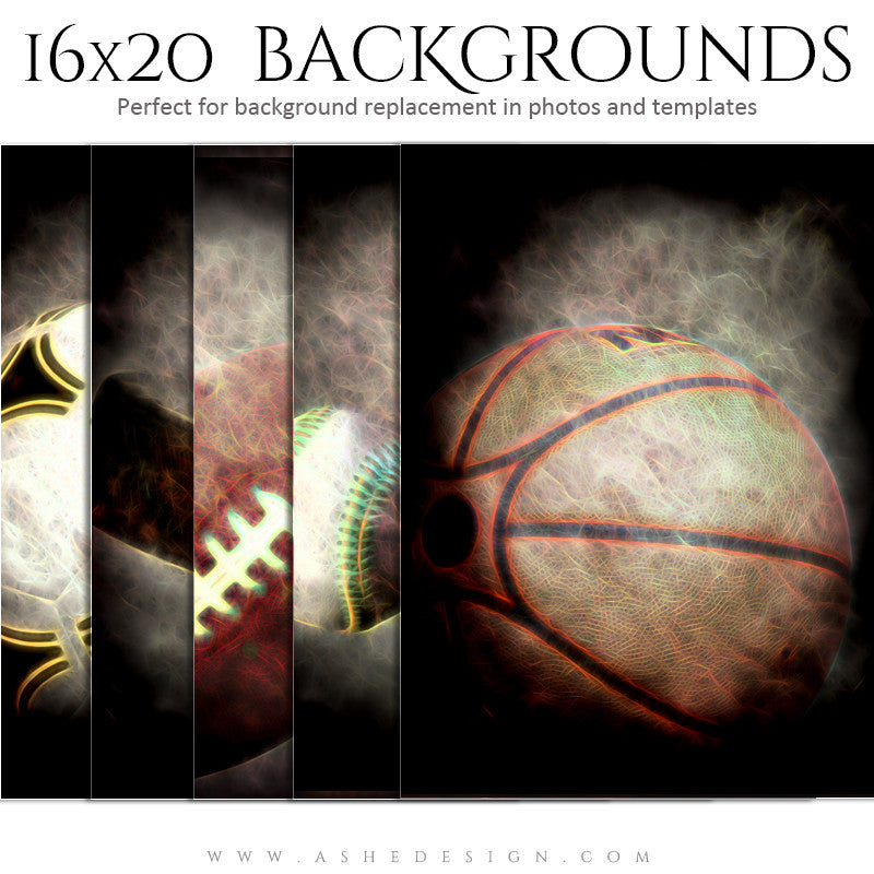 Sports Photography Backdrops 16x20 | Up In Smoke full set