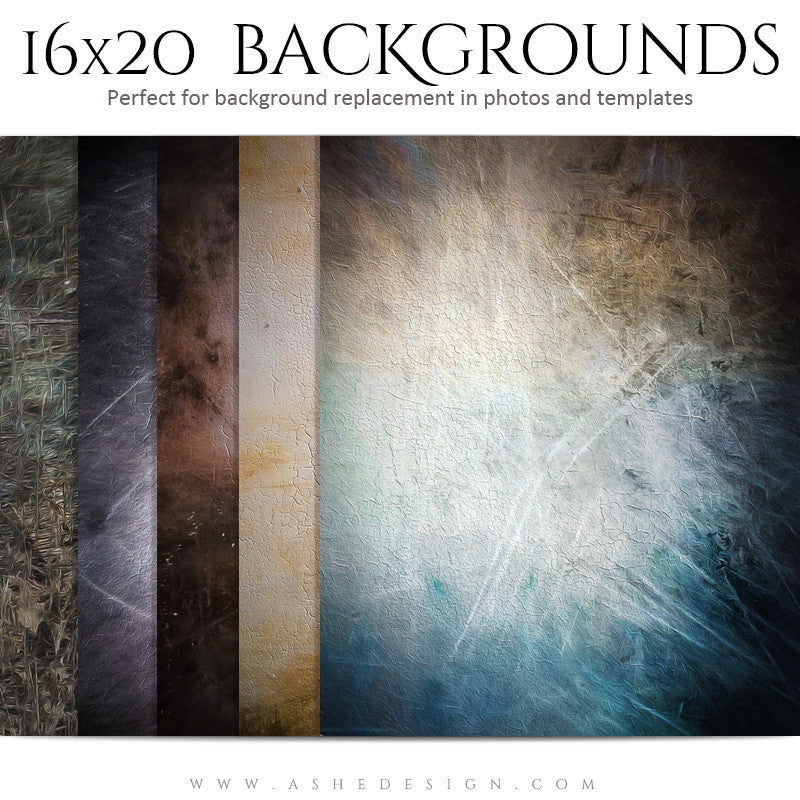 Background Set 16x20 | Cracked Fresco