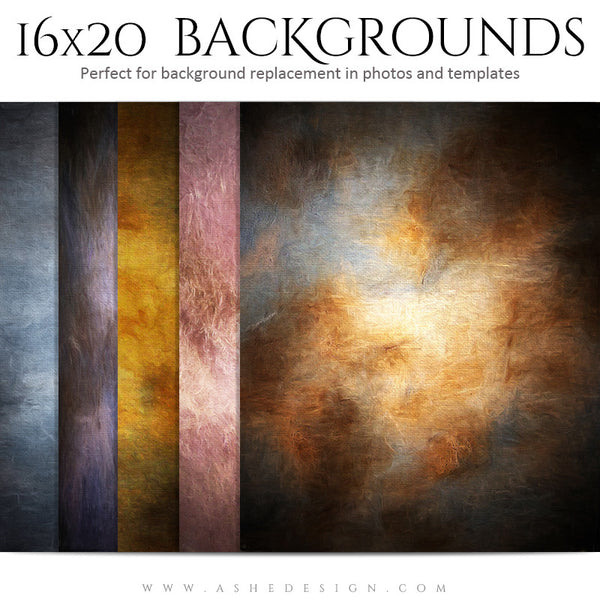 Photography Background Set | Impressionistic Canvas