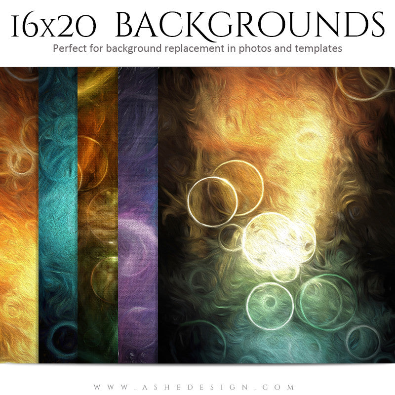 Photography Background Set | Painted Bokeh