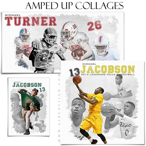 Amped Collage Set | Game Day