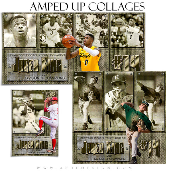 Sports Collage Templates | Hall Of Fame