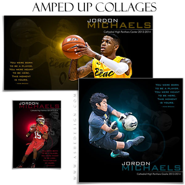 Amped Collage Set | This Moment Is Yours