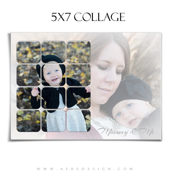 Family Collage 5x7 | Tiled