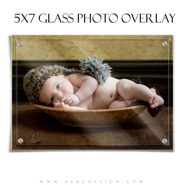 Designer Gems | Glass Photo Overlays 5x7